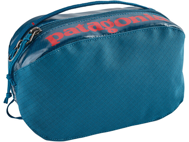 Patagonia Black Hole Cube Toiletry Bag small, balkan blue